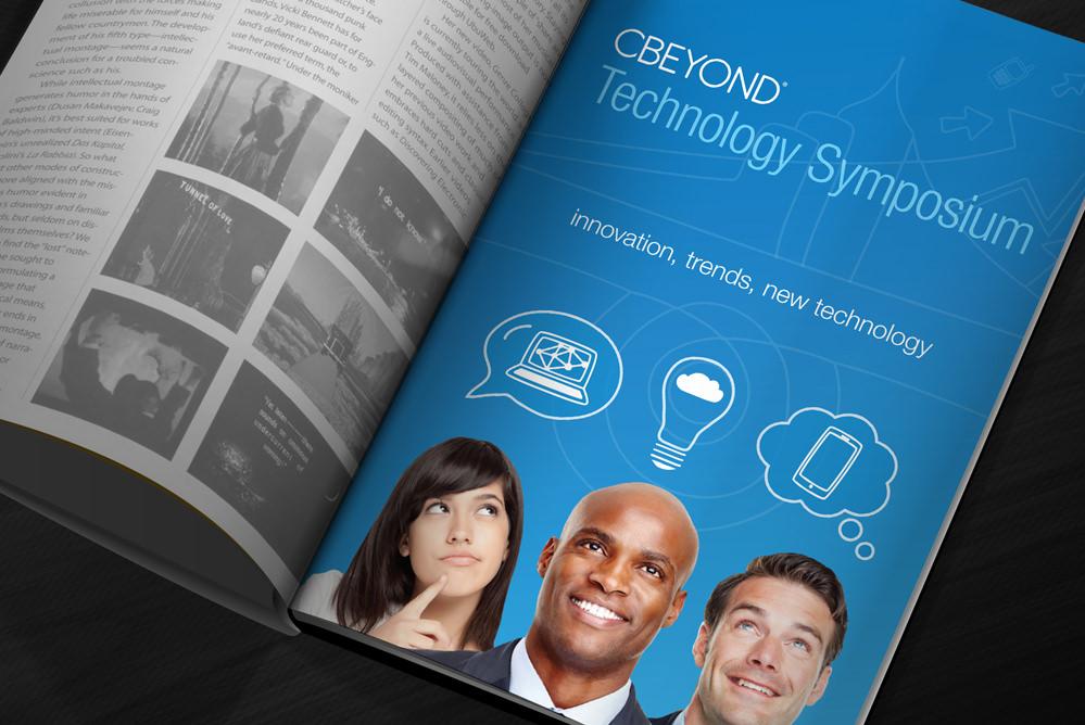 Cbeyond print design work